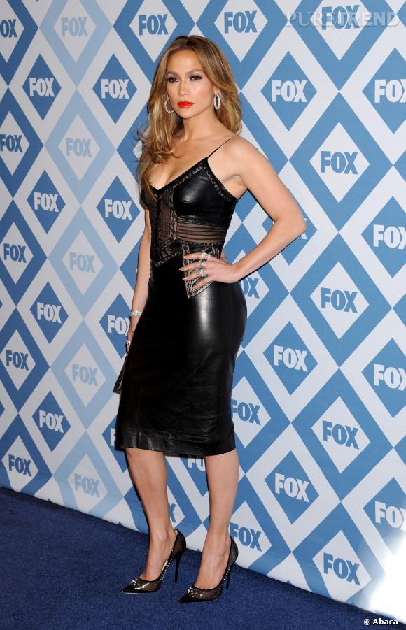 Jennifer Lopez lors de la soiréeFOX Winter All-Star TCA à Los Angeles.