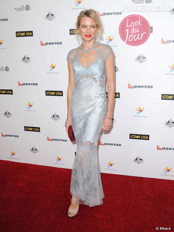 Naomi Watts lors duG'Day USA Black Tie Gala 2014 à Los Angeles.