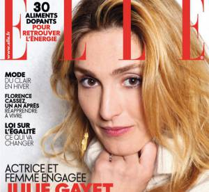 Julie Gayet en Une de Elle : ''une vraie bobo qui se passionne pour son job''