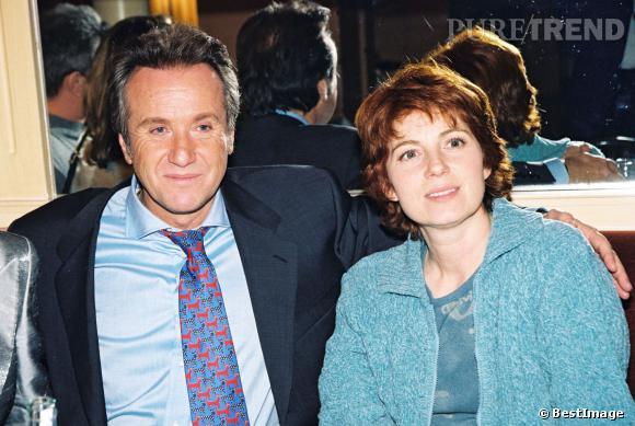 Véronique Genest et Yves Renier en 1998.