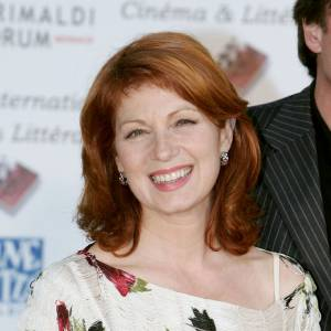 Véronique Genest, très glamour au forum cinéma et littérature de Monaco en 2005.