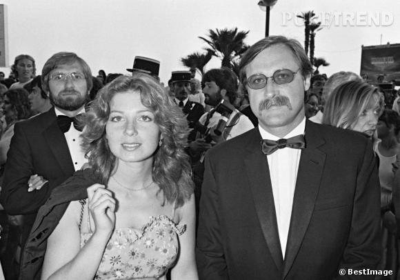 Véronique Genest, toute jeunette sur le red carpet du Festival de Cannes en 1981.