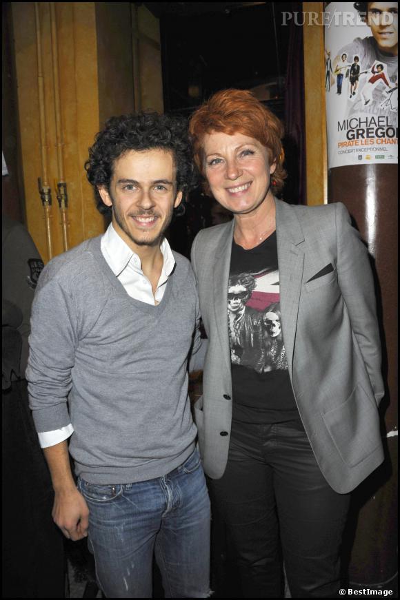 Véronique Genest et l'imitateur Michael du Gregorio, en 2010.