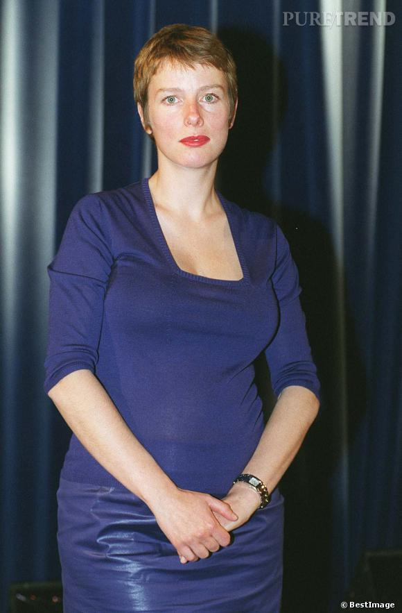 Karin Viard, complexée en 1999.