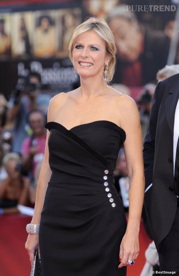Karin Viard au Festival du film de Venise en 2010.