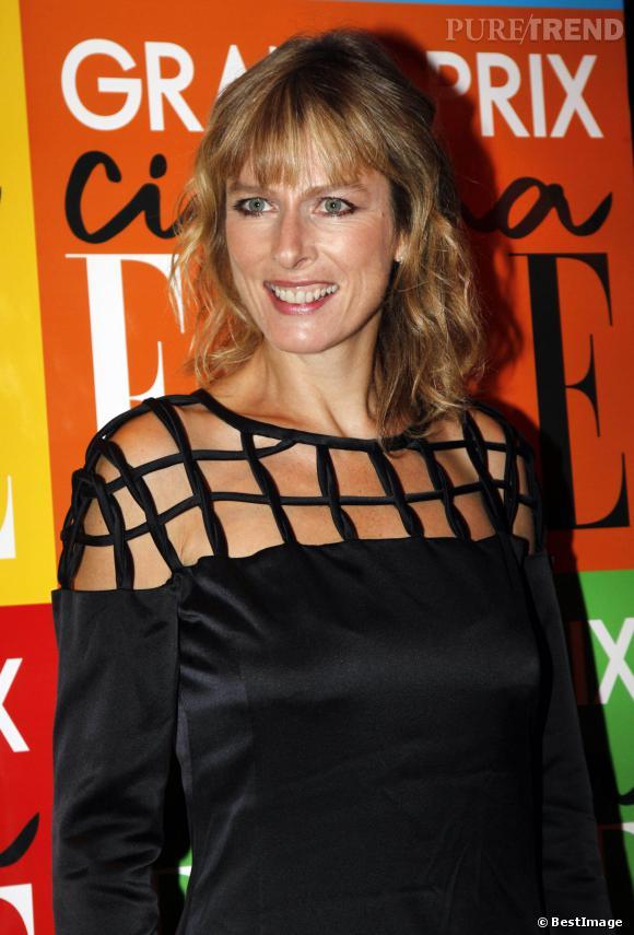 Karin Viard au Grand Prix Cinéma organisé par ELLE en 2011.
