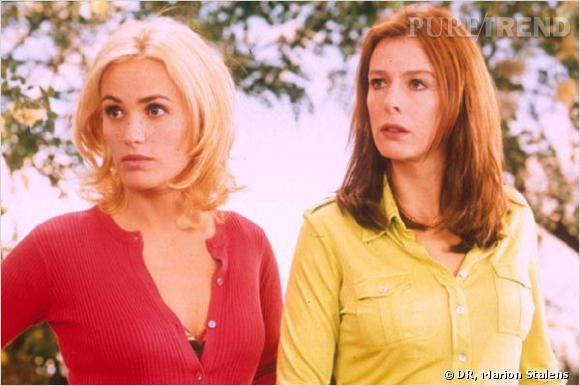 "Karin Viard et Judith Godrèche dans ""France Boutique"", en 2003."