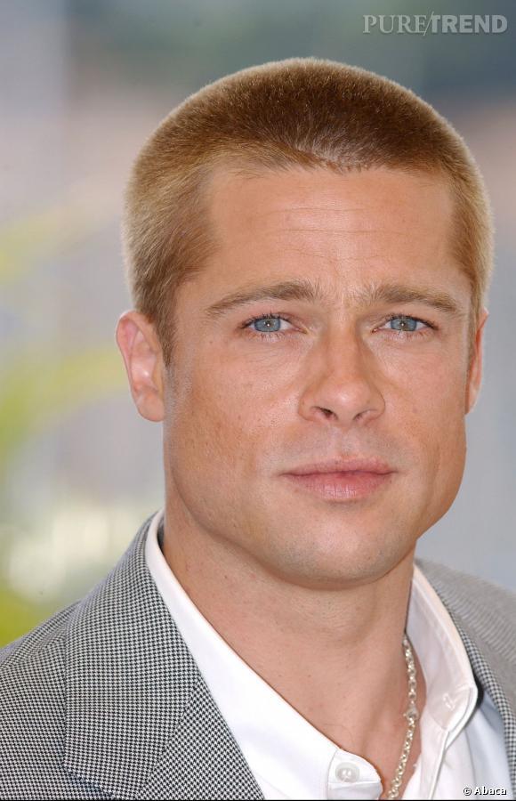Brad Pitt et sa coupe kiwi.