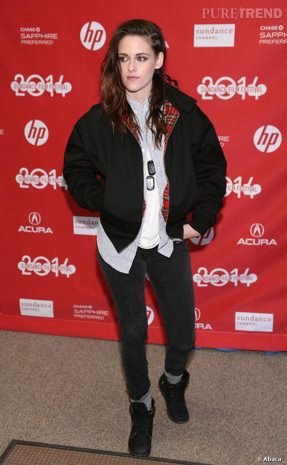 Kristen Stewart adore entretenir son allure masculine.