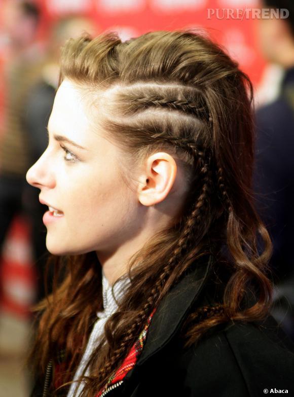 Kristen Stewart adieu les coiffures travaillées, bientôt le crâne rasé ?