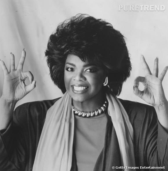 1978 : Oprah Winfrey la reine du brushing.
