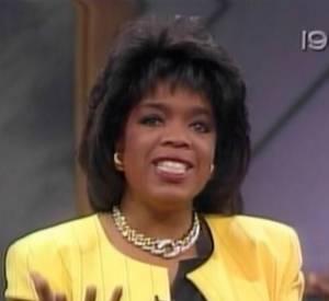 1990 : Oprah Winfrey à deux doigts du mulet.
