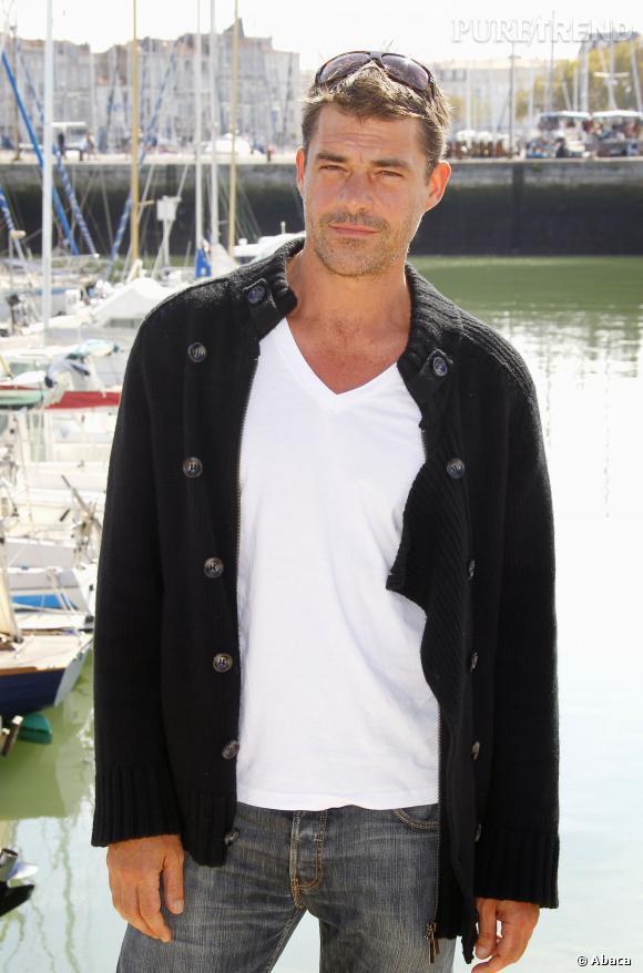 """Thierry Neuvic, en 2011, il joue dans le deuxième opus de """"Sherlock Holmes"""" aux côtés de Robert Downey Jr."""