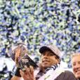Le trophée du Super Bowl 2014.