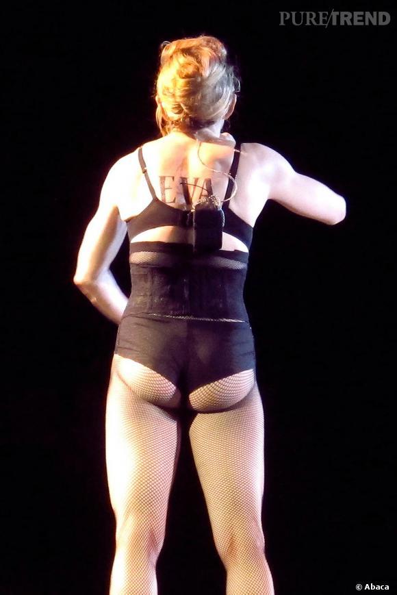 Madonna a la fesse qui tremble.