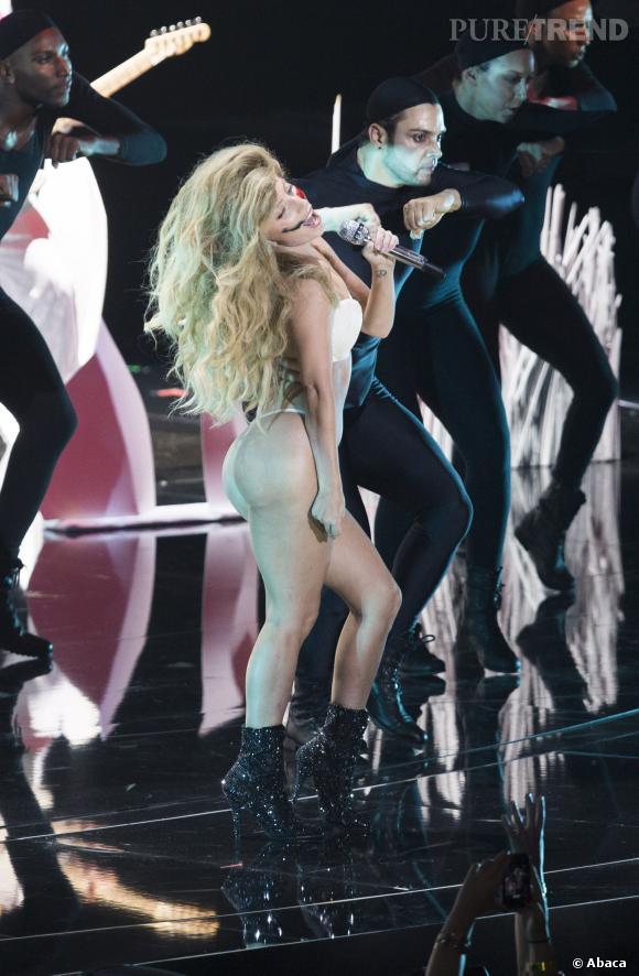 Lady Gaga dans le plus simple appareil.