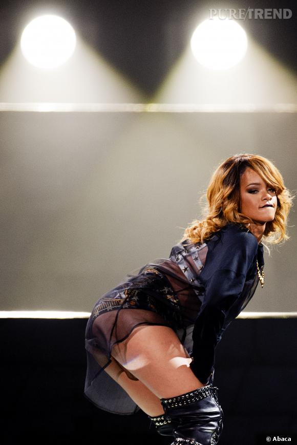Rihanna, aucun concert ne se passe sans fesses à l'air.