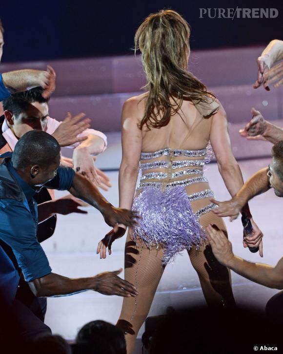 Jennifer Lopez et son célèbre booty.