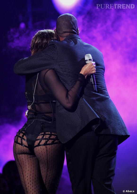 Beyoncé et son fessier d'acier.