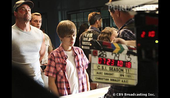 Justin Bieber dans Les Experts Las Vegas, l'une des nombreuses guest stars de la série.