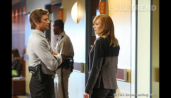 """Grant Show de """"Melrose Place"""" à Las Vegas. L'acteur incarne un agent du FBI et un joli flirt pour Catherine Willows dans Les Experts Las Vegas."""