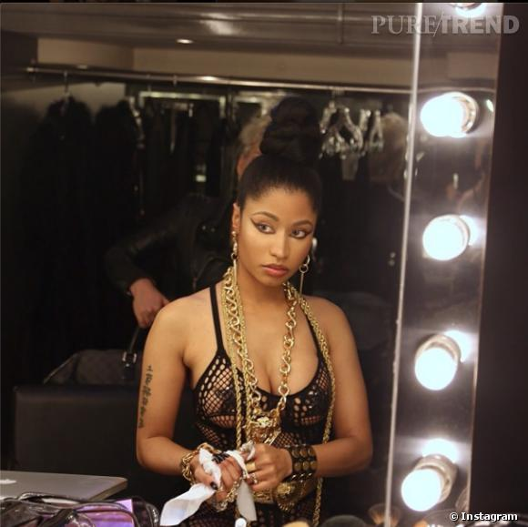 Nicki Minaj adore se dévoiler sur son Instagram.