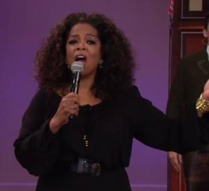 Oprah Winfrey dit au revoir à Jay Leno.