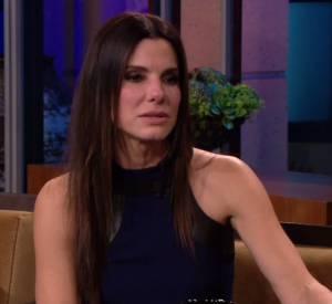 Sandra Bullock a les larmes aux yeux en faisant ses adieux à Jay Leno.