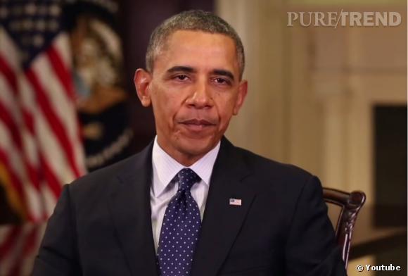 Barack Obama prend le temps de dire un petit mot à Jay Leno.
