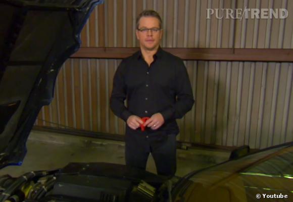 Matt Damon veut venir aider Jay Leno à retaper de vieilles voitures.