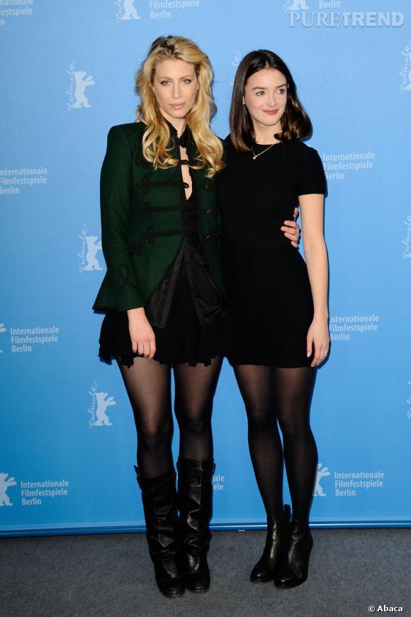 Charlotte Le Bon et Marie de Villepin, jolies poupées à la Berlinale 2014.