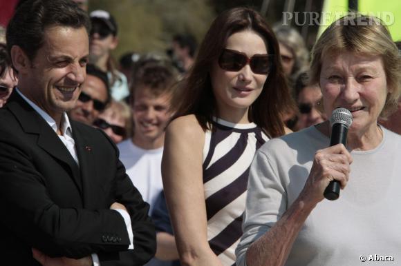 """Pour Marisa Bruni-Tedeschi se confie à Nice Matin : pas question que Carla Bruni se """"sacrifie"""" une nouvelle fois si son gendre, Nicolas Sarkozy, revient sur le devant de la scène politique."""