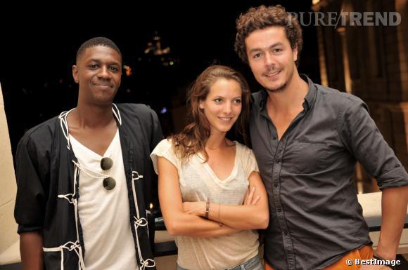 """David Baiot, Elodie Varlet,et Jérémie Poppe, tous au casting de """"Plus belle la vie""""."""