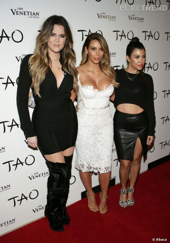 En vrai, les soeurs Kardashian ressemblent plutôt à ça.