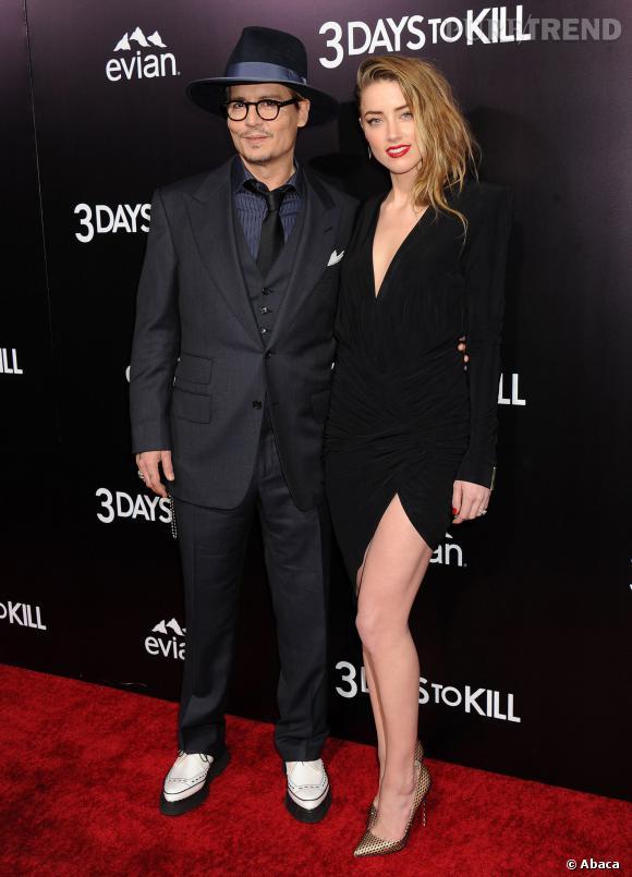 Amber Heard et Johnny Depp le couple le plus glamour d'Hollywood ?