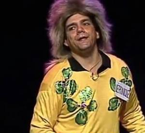 Didier Bourdon en candidate de jeu télévisé. Culte.