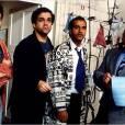 """Bernard Campan, Didier Bourdon et Pascal Légitimus dans """"Les Trois Frères""""."""