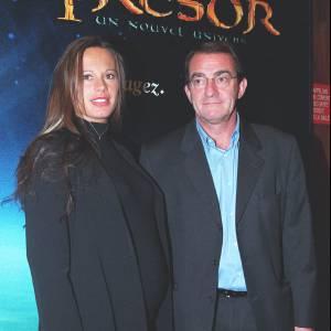 """Nathalie Marquay, très enceinte, et Jean-Pierre Pernaut à la première de """"La Planète au Trésor""""."""
