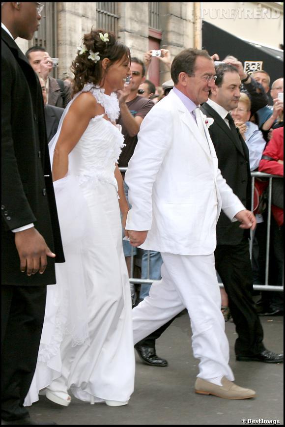 Nathalie Marquay et Jean-Pierre Pernaut se marient en juin 2007.
