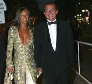 Nathalie Marquay et Jean-Pierre Pernaut au Festival de Cannes de 2002.
