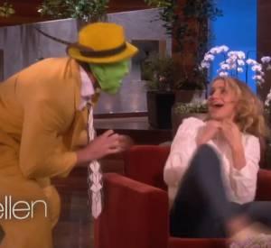 """Cameron Diaz sur le plateau de l'émission """"The Ellen Show""""."""