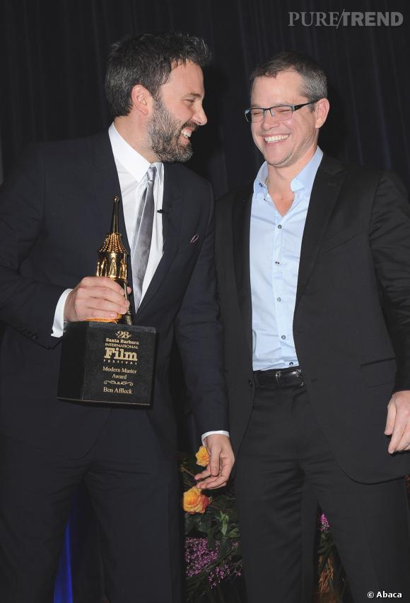 Matt Damon a de l'humour et a fait une blague pour le moins inattendue à Ben Affleck et Jimmy Kimmel : un fax de ses fesses.