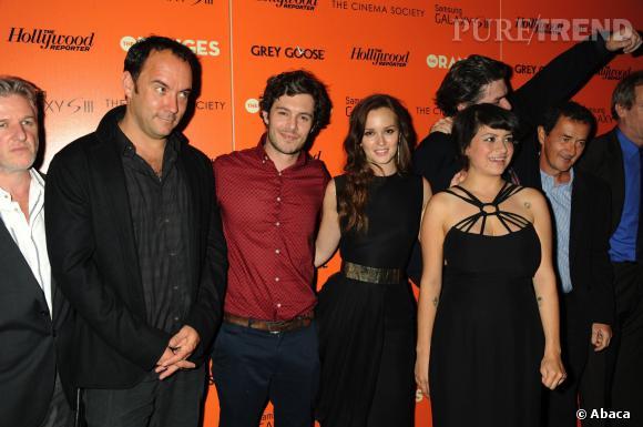 """Adam Brody et Leighton Meester se sont rencontrés sur le tournage de """"The Oranges"""" en 2011."""