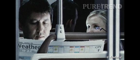 """Cameron Diaz dans """"Minority Report""""."""