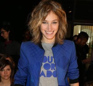 Pauline Lefèvre : bleu roi et Bombers à l'honneur à la Fashion Week de Paris
