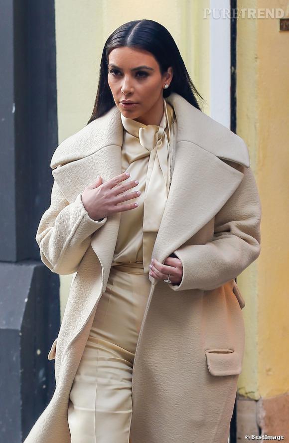 Kim Kardashian n'a pas honte de l'avouer, elle a eu recours au laser pour effacer ses vergetures.
