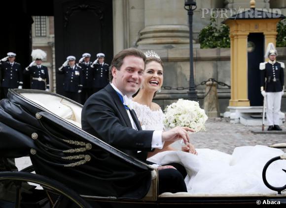 La Princesse Madeleine de Suède s'est mariée avec Chris O'Neill en juin 2013.