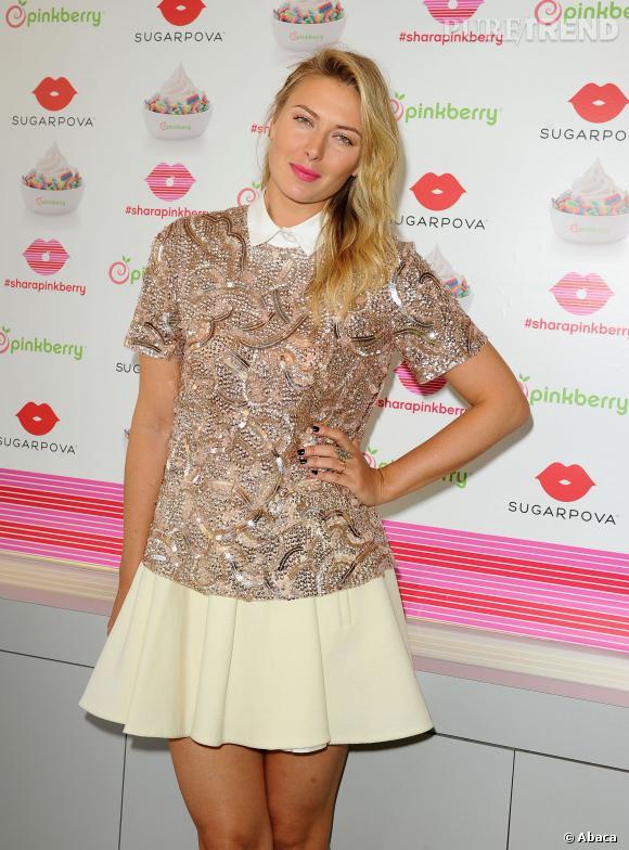 Maria Sharapova, la plus lookée des joueuses de tennis.