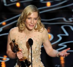 Cate Blanchett et son discours en forme de coup de gueule féministe pour son Oscar de meilleure actrice.