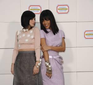 Leigh Lezark et Rihanna toutes les deux en Chanel.